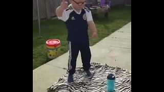 Little Ghostbuster Busts a Move - Video