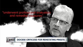 Buffalo Diocese criticized for reinstating priests