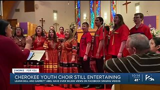 Cherokee Nation Youth Choir Entertaining Amid COVID-19