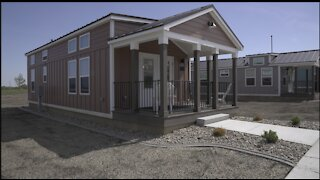 Tiny homes 'a great option for families' at Jackson College