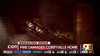 Cincinnati firefighters find smoke coming from vacant Corryville home - Video