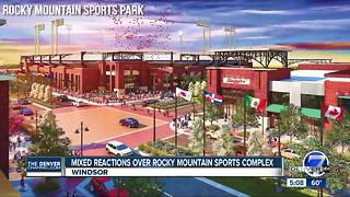Mixed reactions over Rocky Mountain Sports Complex - Video