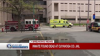 Inmate dies at Cuyahoga County Jail on Friday afternoon
