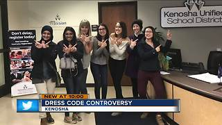 ACLU sends Kenosha School District letter over dress code policy - Video