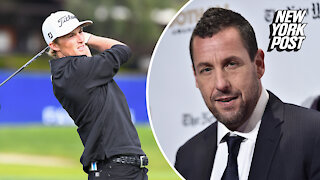 Will Zalatoris has perfect response to Adam Sandler's 'Happy Gilmore' tweet