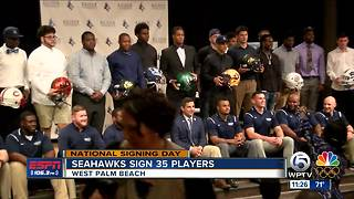 Keiser signs 35 players - Video
