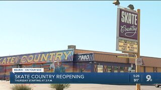 Skate Country set to reopen with safety precautions