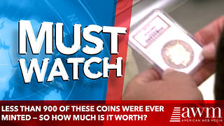 Less Than 900 Of These Coins Were Ever Minted — So How Much Is It Worth? - Video