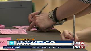 Big races in Southwest Florida for Primary Election
