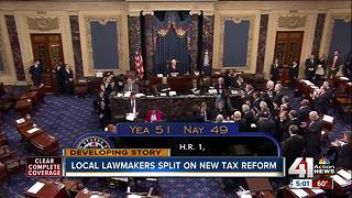 Senate passes historic tax reform bill - Video