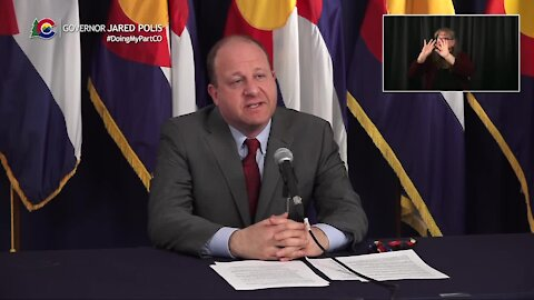 Full news conference: Gov. Polis provides update on South African variant in Colorado, current vaccine rollout process