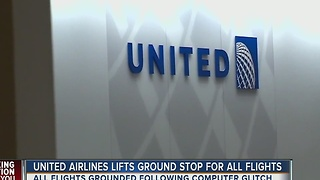 United Airlines lifts ground stop for all flights after computer glitch - Video