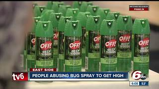People are using bug spray to get high and it's really dangerous - Video