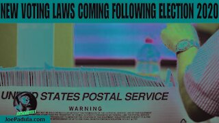 New Voting Laws Coming Following Election 2020