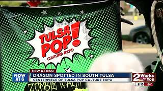 Dragon spotted in South Tulsa - Video
