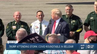 President Trump makes stop at a fundraising event in Tampa