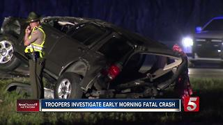 Woman Killed In Crash On I-840 In Williamson County - Video