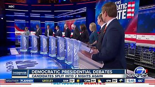 Round 2 of Democratic Presidential Debates