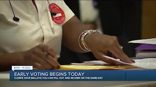 Early voting begins Thursday in Michigan