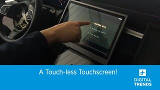 A Touch-free Touchscreen!