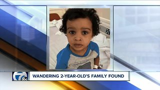 Buffalo police locate family of 2-year-old boy found on street corner overnight