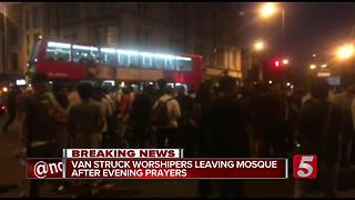 Finsbury Park: Police Treating Mosque Assault As 'Terror Attack' - Video