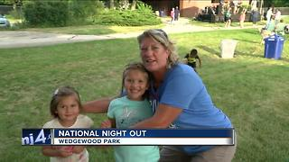 National Night Out at Wedgewood Park - Video