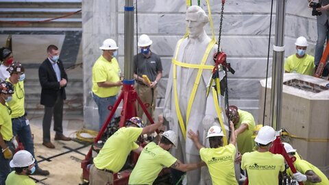 Jefferson Davis Statue Removed From Kentucky Capitol