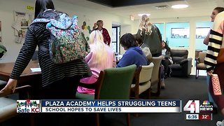 Plaza Academy uses non-traditional teaching to help students get on track