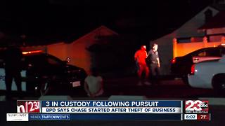 5 in custody following pursuit - Video