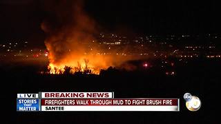 Brush fire breaks out at Mission Trails Regional Park - Video