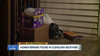 Aunt speaks out about mother taken into custody after human remains were found in the back yard of a west side home - Video
