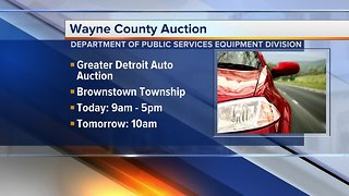 Wayne County Auction to take place March 9