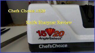 Chefs Choice 1520 Electric Knife Sharpener Product Review