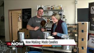 Now Making: MADE Candles - Video
