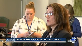 DPS Superintendent Susana Cordova provides update on Day 1 of Denver teacher strike