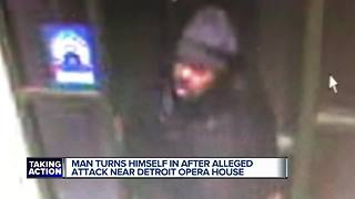 Suspect in Detroit Opera House attack turns himself in