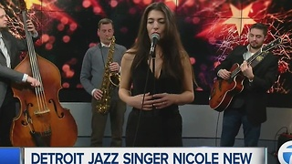 Detroit jazz singer Nicole New performing New Year's Eve - Video