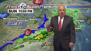 11pm Sunday First Alert Forecast - Video