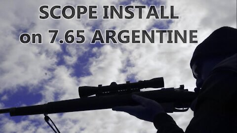 Scope Installation on a 7.65 Argentine by Wapp Howdy