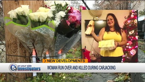 Family mourns mother of 2 run over by car thieves