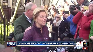 Women important voting group in 2020 election