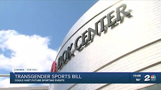 Transgender sports bill could hurt future sporting events