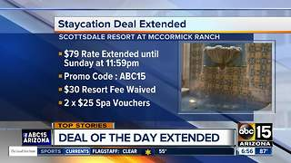 Scottsdale resort deal extended through the weekend