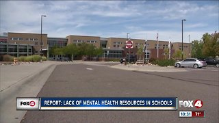 Report: Lack of mental health staff in schools