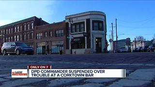 Detroit Police Commander on suspension after altercation in Corktown Bar