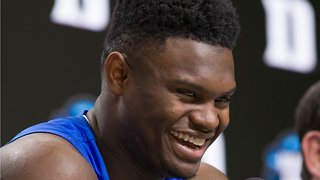 Zion Williamson's first NBA sneaker could start 'the biggest bidding war ever'