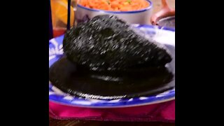 Mole Negro Oaxaqueño with Red Rice