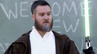 Adventures in Jedi School: Sexism and Lightsaber Safety - Video