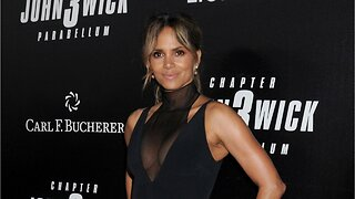 Halle Berry shows off new shaved Hairdo